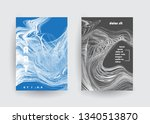 covers templates set with... | Shutterstock .eps vector #1340513870
