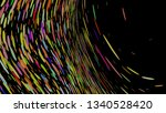 colourful simple abstract... | Shutterstock .eps vector #1340528420