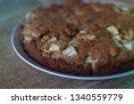 homemade healthy vegan oat... | Shutterstock . vector #1340559779