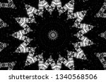 abstract black and white... | Shutterstock .eps vector #1340568506