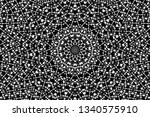 abstract black and white... | Shutterstock .eps vector #1340575910