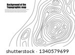 background of the topographic...   Shutterstock .eps vector #1340579699