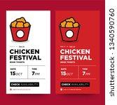 fried chicken festival ticket...