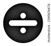 mathsymbols _ division | Shutterstock . vector #1340626676