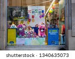 paris  france   16 march 2019 ...   Shutterstock . vector #1340635073