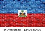 flag of haiti on a brick wall   ...   Shutterstock .eps vector #1340656403
