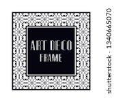 vintage retro ornamental art...   Shutterstock .eps vector #1340665070