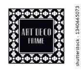 vintage retro ornamental art...   Shutterstock .eps vector #1340665073