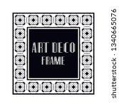 vintage retro ornamental art...   Shutterstock .eps vector #1340665076