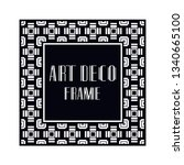vintage retro ornamental art...   Shutterstock .eps vector #1340665100