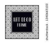 vintage retro ornamental art...   Shutterstock .eps vector #1340665103