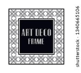 vintage retro ornamental art...   Shutterstock .eps vector #1340665106