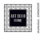 vintage retro ornamental art...   Shutterstock .eps vector #1340665109