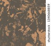 brown grunge background. the...   Shutterstock .eps vector #1340668859