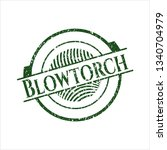 green blowtorch distress rubber ...   Shutterstock .eps vector #1340704979