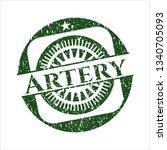 green artery distress grunge...   Shutterstock .eps vector #1340705093