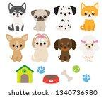 vector illustration of cute...   Shutterstock .eps vector #1340736980