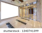 blank advertising signs at the...   Shutterstock . vector #1340741399
