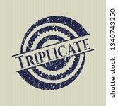 blue triplicate distressed...   Shutterstock .eps vector #1340743250