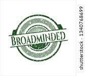 green broadminded distress...   Shutterstock .eps vector #1340768699