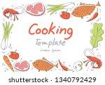 food background  vector | Shutterstock .eps vector #1340792429