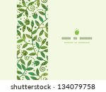 textured colorful branches... | Shutterstock .eps vector #134079758