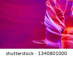 famous antelope canyon near...   Shutterstock . vector #1340801000