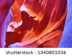 famous antelope canyon near...   Shutterstock . vector #1340801036