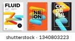 set of trendy abstract design...   Shutterstock .eps vector #1340803223