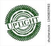 green uptight distress rubber...   Shutterstock .eps vector #1340805983