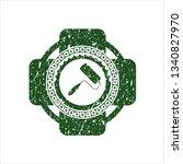 green roller brush icon inside...   Shutterstock .eps vector #1340827970