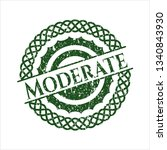 green moderate distressed...   Shutterstock .eps vector #1340843930