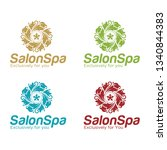 salon spa logo | Shutterstock .eps vector #1340844383