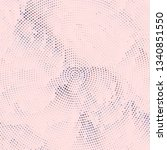 grunge halftone colored dotted...   Shutterstock .eps vector #1340851550