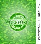 workforce realistic green... | Shutterstock .eps vector #1340862719