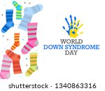 world down syndrome day. | Shutterstock .eps vector #1340863316
