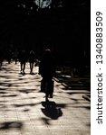 biker in the town | Shutterstock . vector #1340883509