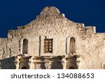 illuminated facade of  historic ... | Shutterstock . vector #134088653