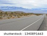 Road Going Through The Mojave...