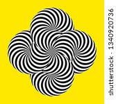 infinity symbol of interlaced... | Shutterstock .eps vector #1340920736