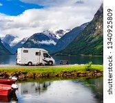 family vacation travel rv ... | Shutterstock . vector #1340925809