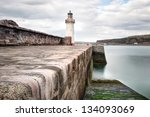 The West Pier Lighthouse And...