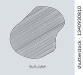 scribble sketch of nauru map...   Shutterstock .eps vector #1340930810
