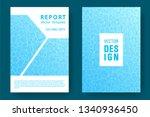 world oceans day brochure cover ... | Shutterstock .eps vector #1340936450