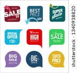 sale banner templates design... | Shutterstock .eps vector #1340938820