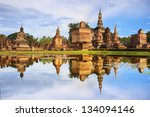 sukhothai thailand  september 9 ... | Shutterstock . vector #134094146