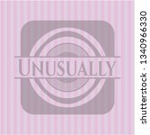 unusually badge with pink... | Shutterstock .eps vector #1340966330