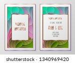 design templates for flyers ...   Shutterstock .eps vector #1340969420