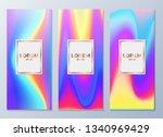 design templates for flyers ...   Shutterstock .eps vector #1340969429
