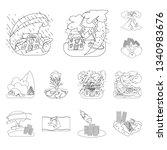 vector illustration of... | Shutterstock .eps vector #1340983676